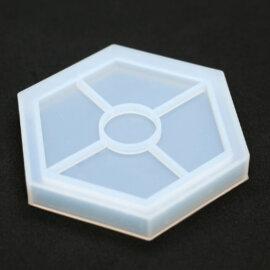 Kuusnurkne silikoonist vorm