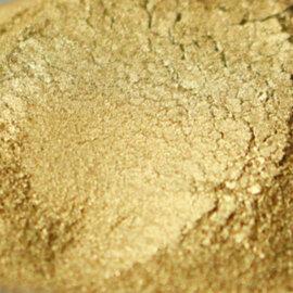 Mica pigmentpulber, kuldne, 5g-10g
