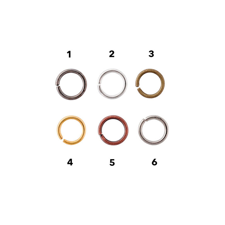 Rõngad, ehete osad, 5mm, erinevad värvid