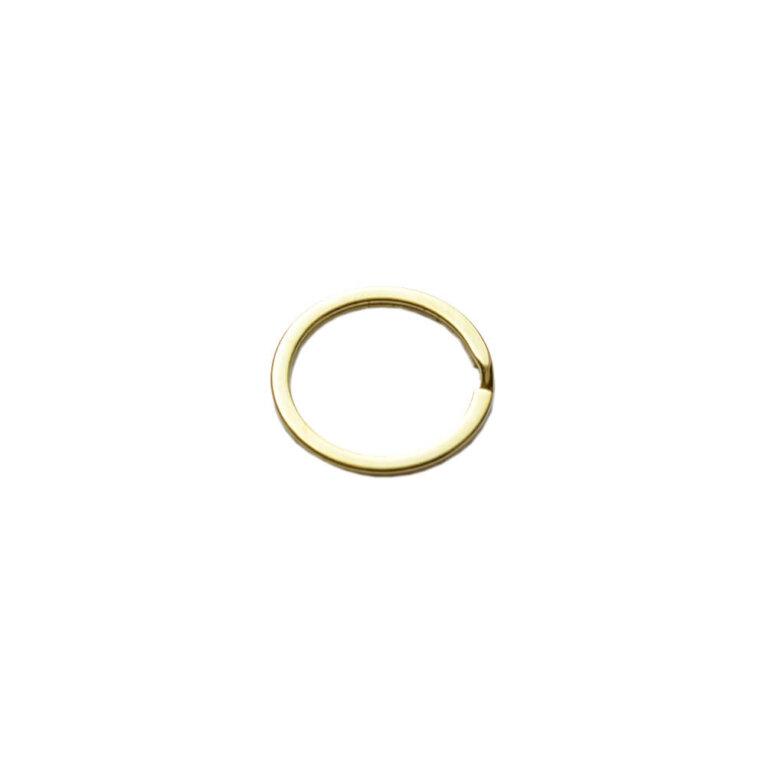Võtmehoidja rõngas, kuldne, 30mm
