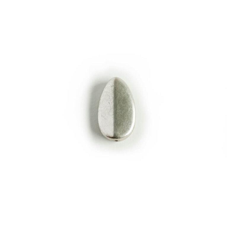 Kulunud metalne helmes, 24×14 mm
