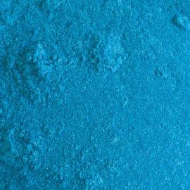 Mica pigmentpulber, helesinine