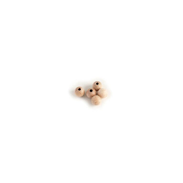 Puust pärlid, 8mm
