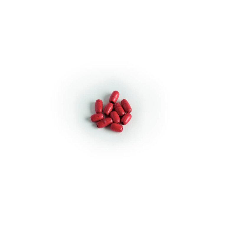 Puidust pärlid, punane