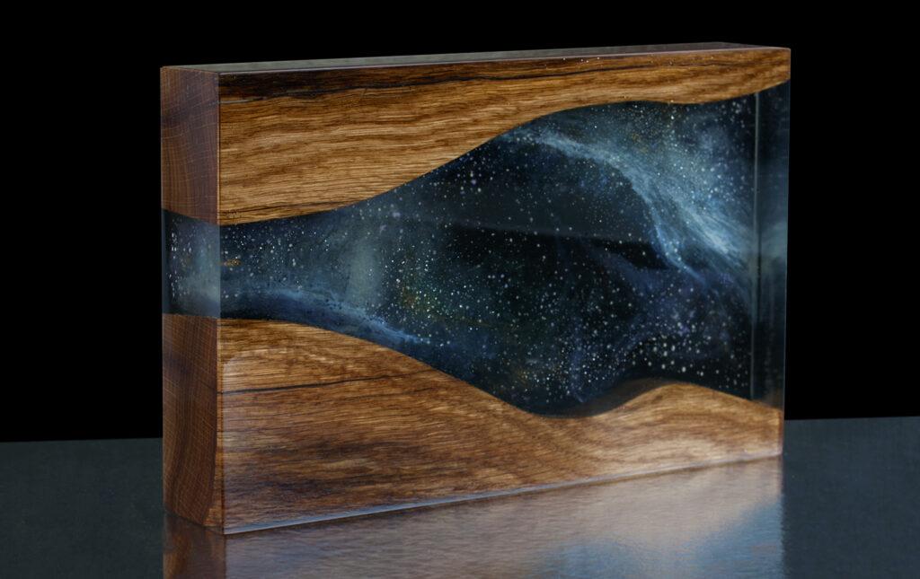 Galaktika teemaline meene, graveeringuta
