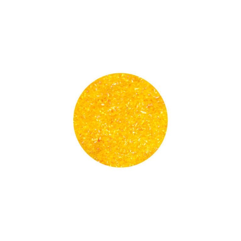 Glitter, sädelev pulber,  tumekollane
