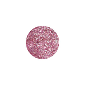Glitter, sädelev pulber, metallikroosa