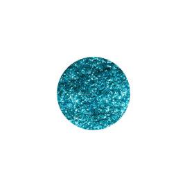 Glitter, sädelev pulber, türkiis