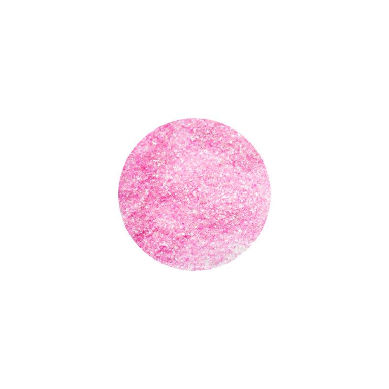 Glitter, sädelev pulber, heleroosa