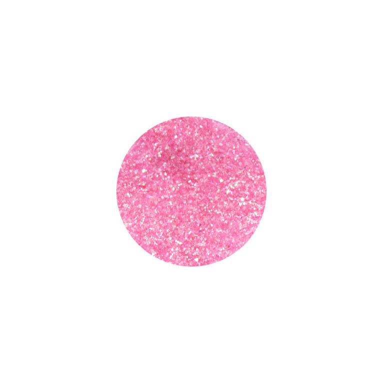 Glitter, sädelev pulber, neoonroosa
