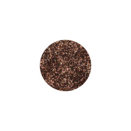 Glitter, sädelev pulber,  pruun