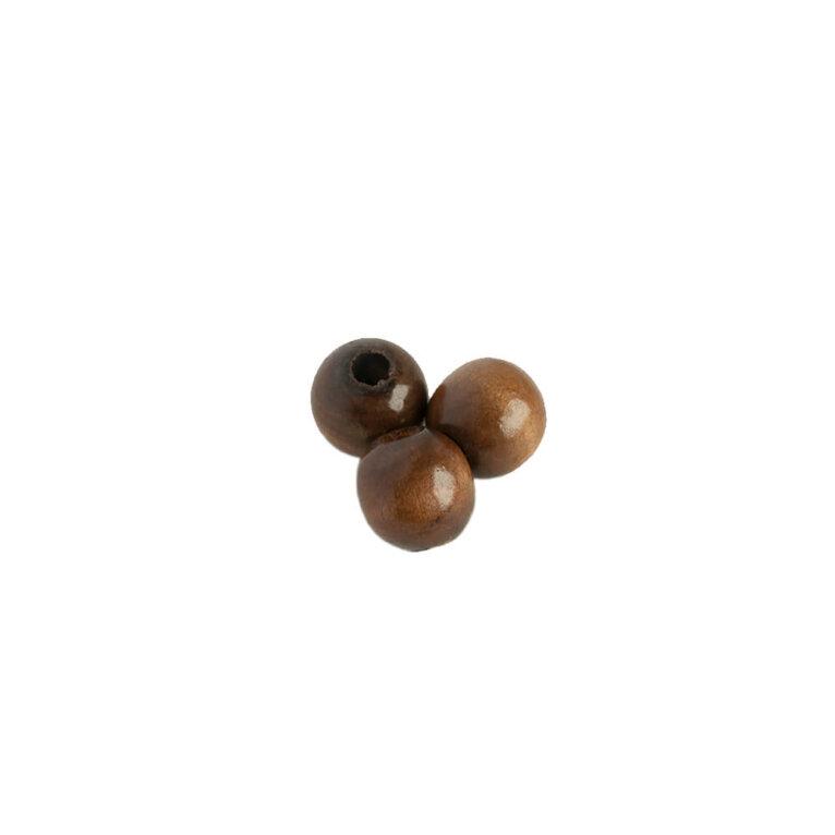 Puidust pärlid, 15mm