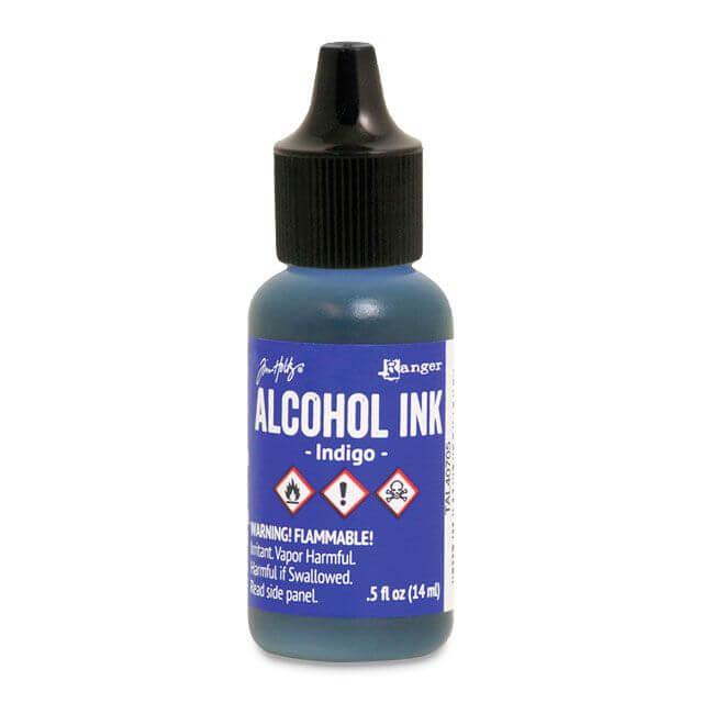 Tim Holtz® Alcohol Ink Indigo, sinine alkoholitint