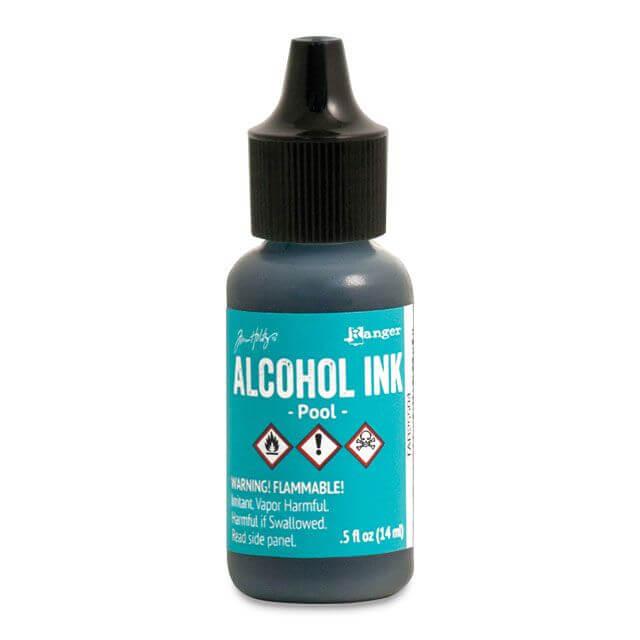 Tim Holtz® Alcohol Ink Pool, sinine alkoholitint