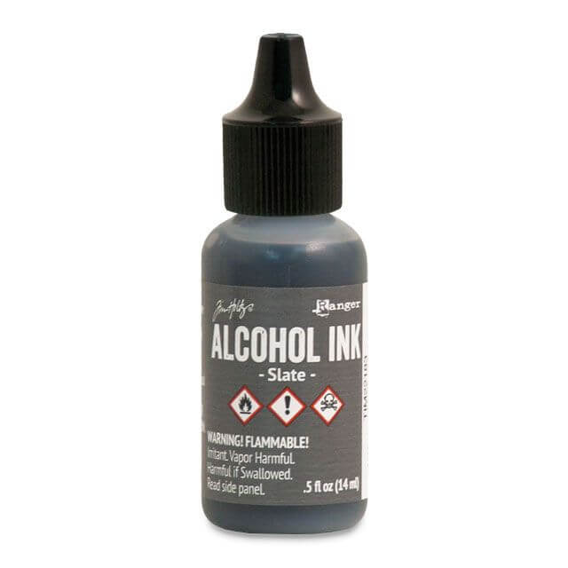 Tim Holtz® Alcohol Ink Slate, hall alkoholitint