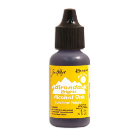 Tim Holtz® Alcohol Ink Sunshine Yellow, kollane alkoholitint