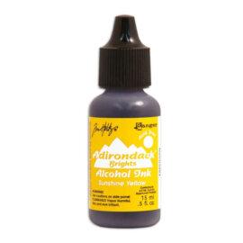 Tim Holtz® Alcohol Ink Sunshine Yellow, kollane alkoholitint