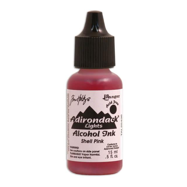 Tim Holtz® Alcohol Ink Shell Pink, roosa alkoholitint
