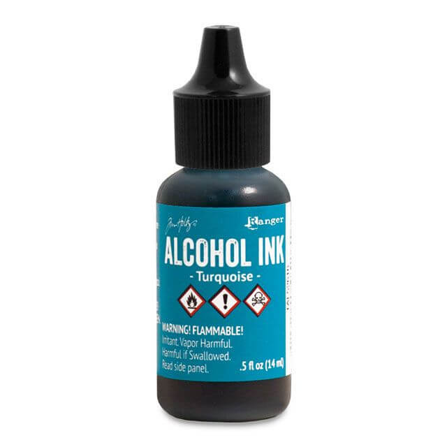 Tim Holtz® Alcohol Ink Turquoise, sinine alkoholitint