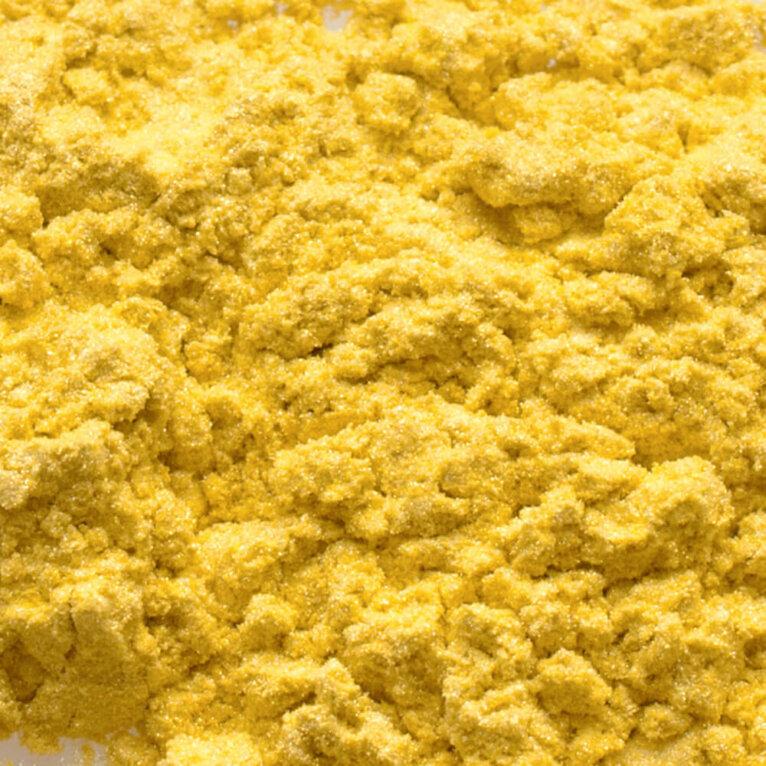 Mica pigmentpulber, Bright Yellow, kollane