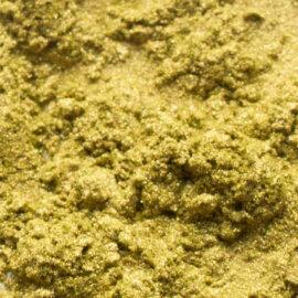 Mica pigmentpulber, Bronzy, roheline kuldse läikega