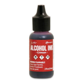 Tim Holtz® Alcohol Ink Crimson, punane alkoholitint