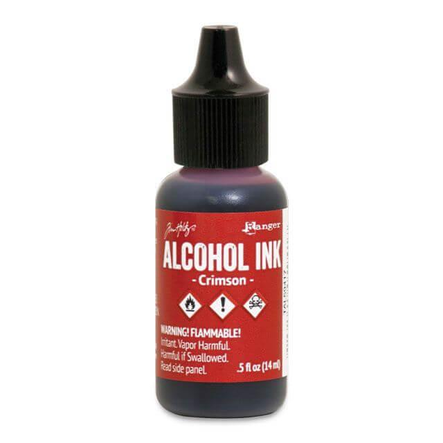 Tim Holtz® Alcohol Ink Crimson, punane alkoholitint