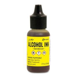 Tim Holtz® Alcohol Ink Dandelion, kollane alkoholitint