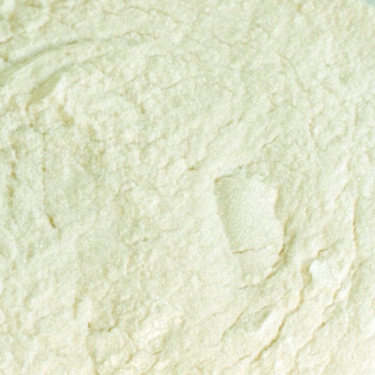 Mica pigmentpulber, Green Pearl, valge rohelise läikega