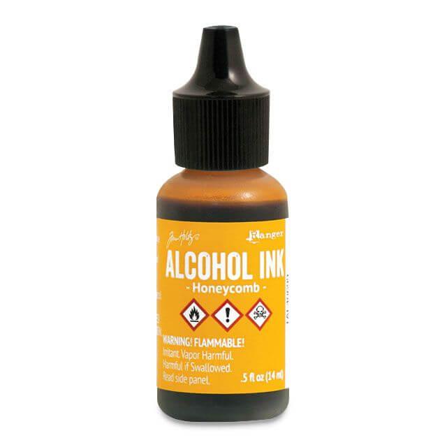 Tim Holtz® Alcohol Ink Honeycomb, kollane alkoholitint
