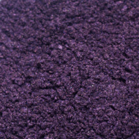 Mica pigmentpulber. Ploomililla