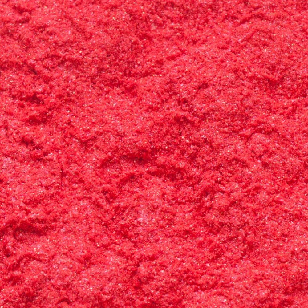 Mica pigmentpulber, Oriental Red, punane