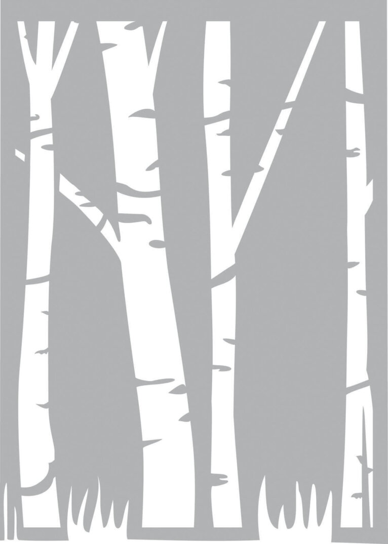 Šabloon, A5, puu motiiv