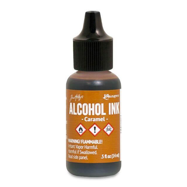 Tim Holtz® Alcohol Ink Caramel, pruun alkoholitint