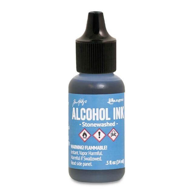 Tim Holtz® Alcohol Ink Stonewashed, sinine alkoholitint