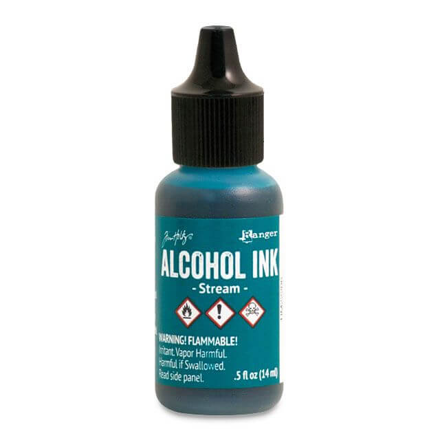 Tim Holtz® Alcohol Ink Stream, roheline alkoholitint