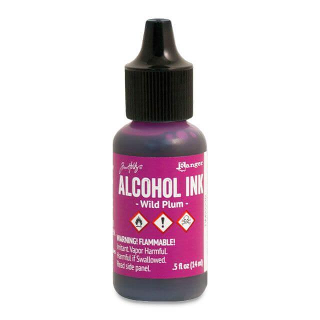 Tim Holtz® Alcohol Ink Wild Plum, lilla alkoholitint