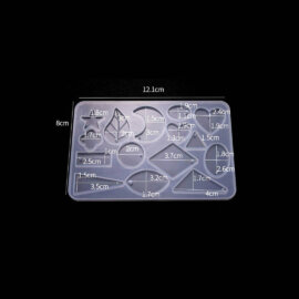 Kõrvarõngaste valamise vorm, 12,1 x 8 cm