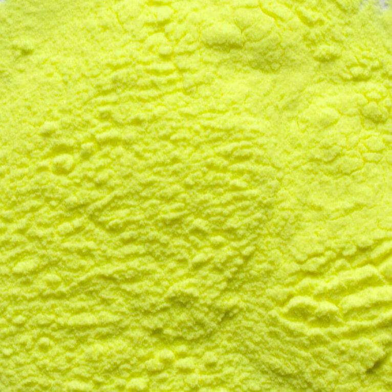 Kollane neoon pigmentpulber
