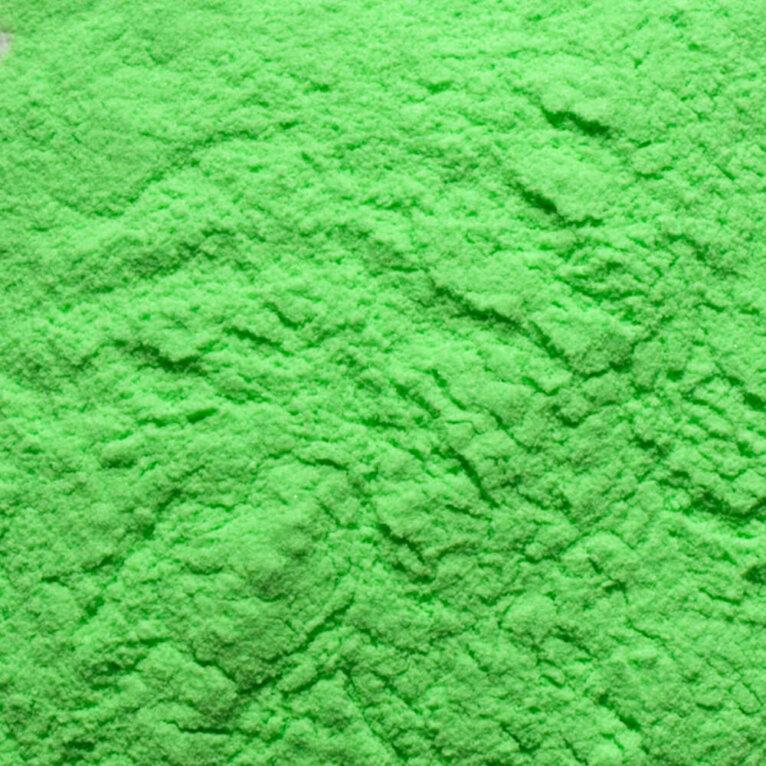 Roheline neoon pigmentpulber