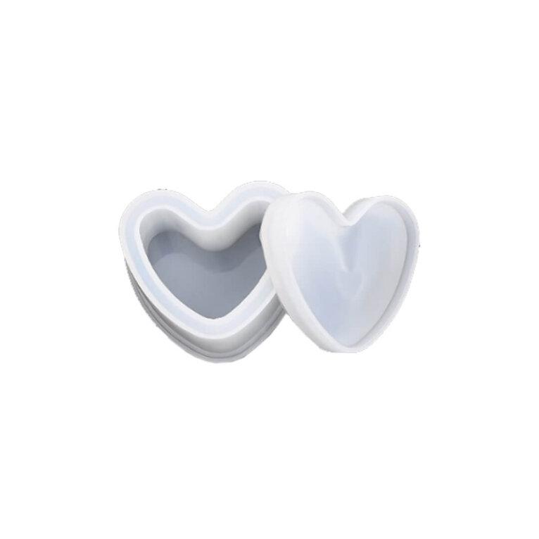 Silikoonvorm karbi valamiseks, süda