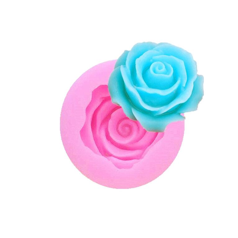 Silikoonvorm roos, 33 x 33 x 13 mm