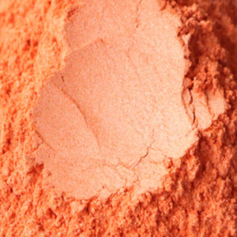 Mica pulber, oranž
