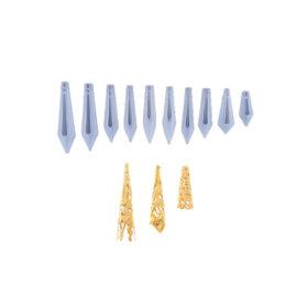 Ripatsivormid ja ehtedetailid, erinevad suurused