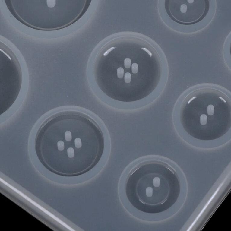 Silikoonvorm nööpide valamiseks, 80 x 90 mm