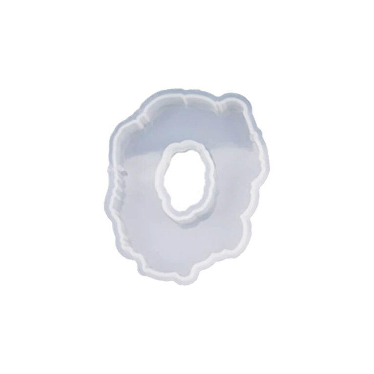 Erikujuline silikoonvorm auguga, 85 x 105 mm