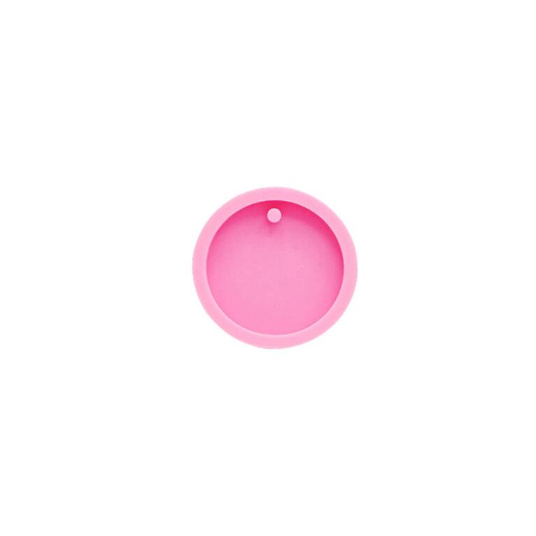 Silikoonvorm ripatsi valamiseks, ring, 5 cm