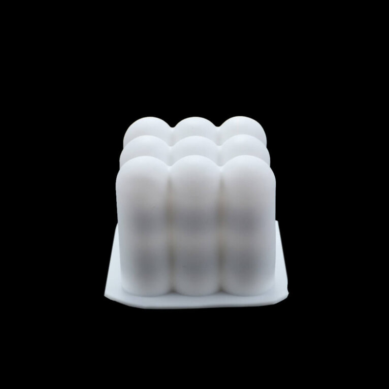 Silikoonvorm, 8 x 8 x 6 cm