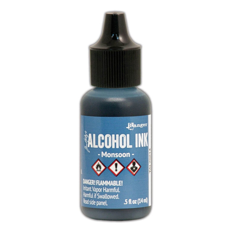 Tim Holtz® Alcohol Ink Monsoon, sinine alkoholitint