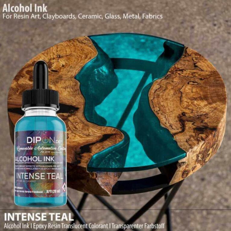 DIPON® Alkoholitint, INTENSE TEAL, türkiis